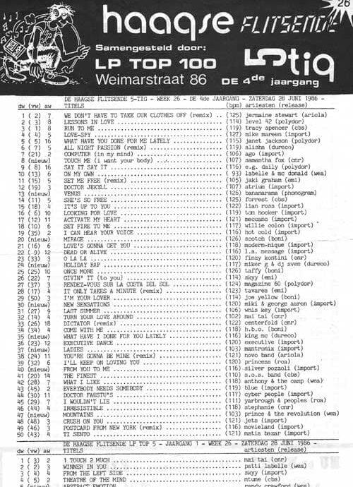 Haagse Flitsende 50 26-06-1986
