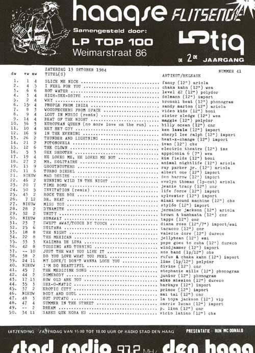 Haagse Flitsende 50 - 13 oktober 1984